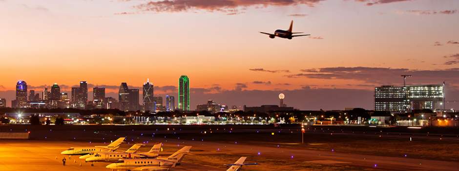 Dallas Airport - Skyline