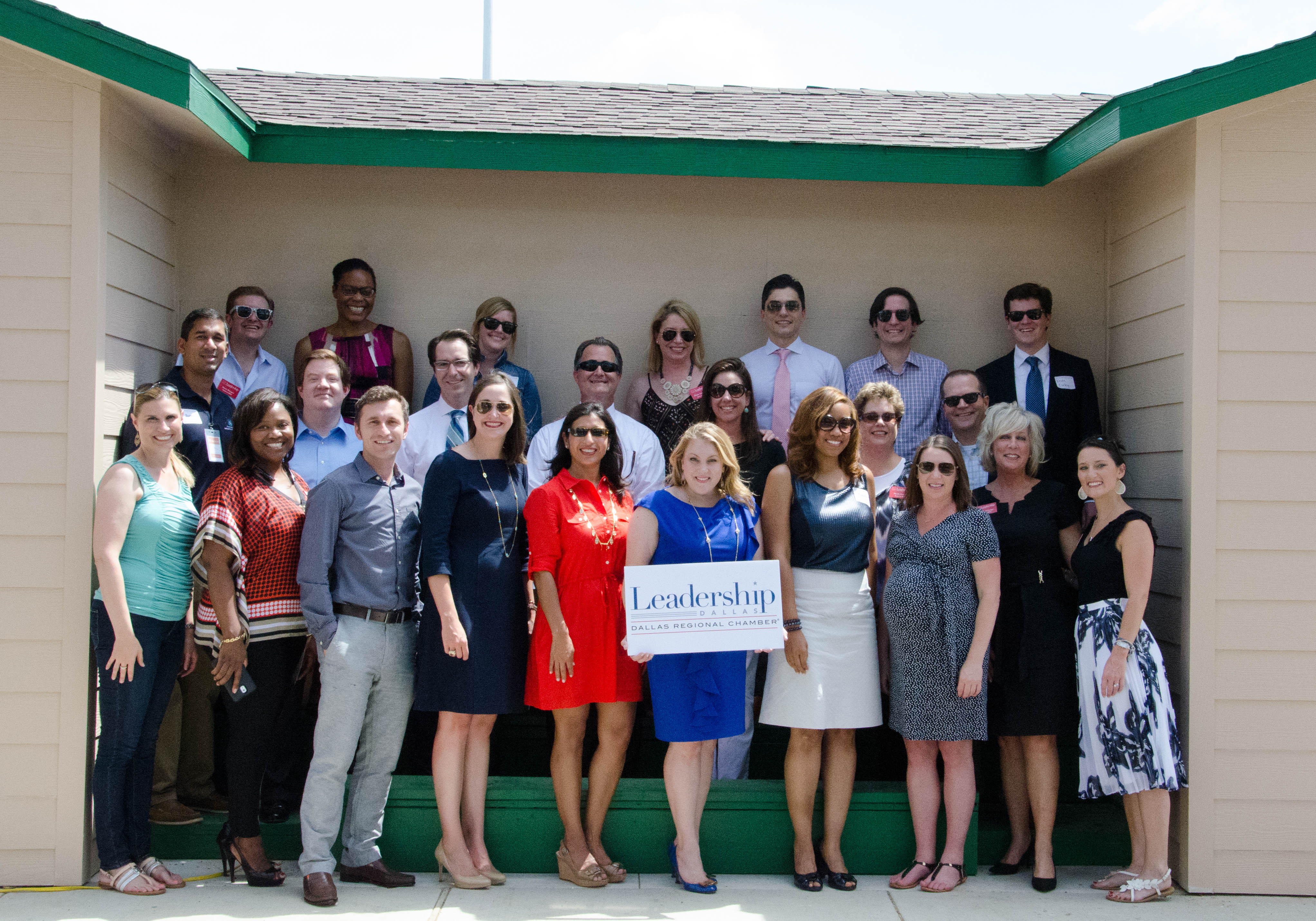 Press releases dallas regional chamber the leadership dallas class of 2015 dedicated its class project at vogel alcove on friday malvernweather Image collections