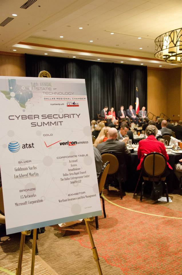 Drc events highlights dallas regional chamber november 11 2014 state of technology cyber security summit view now malvernweather Image collections